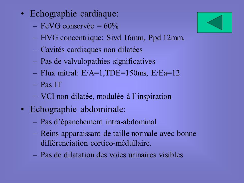 Echographie cardiaque: