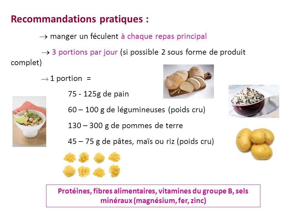 Recommandations pratiques :