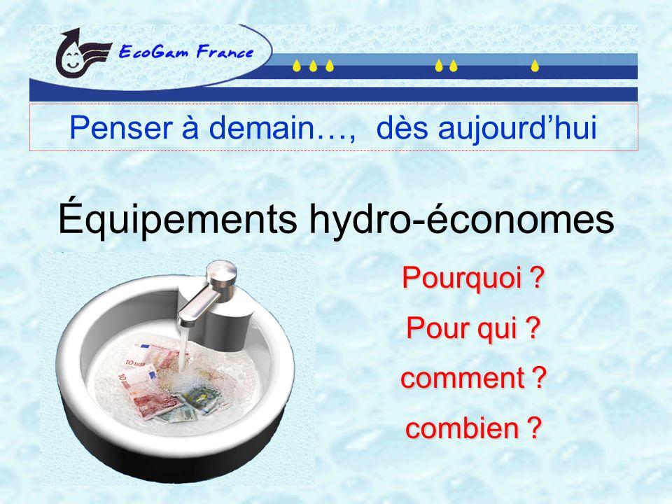 Équipements hydro-économes