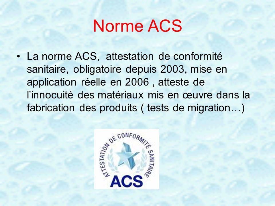 Norme ACS