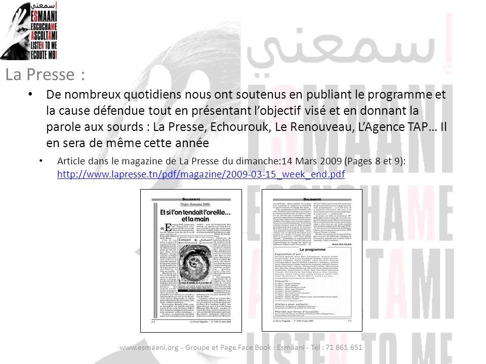 La Presse :