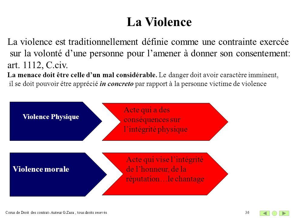 La Violence La violence est traditionnellement définie comme une contrainte exercée.