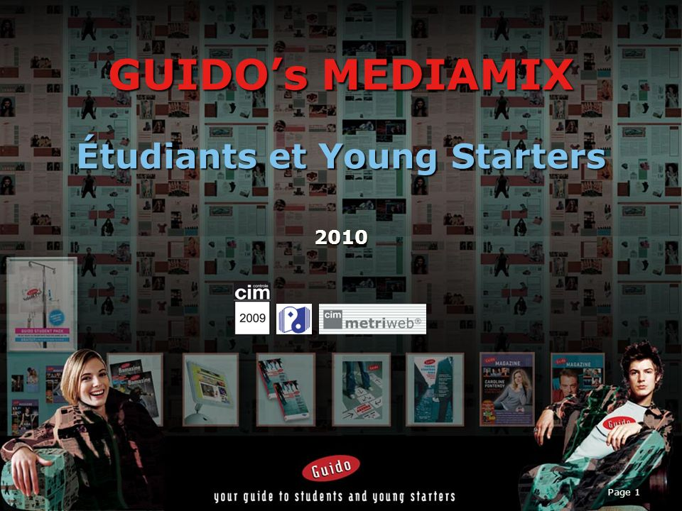 GUIDO's MEDIAMIX Étudiants et Young Starters 2010