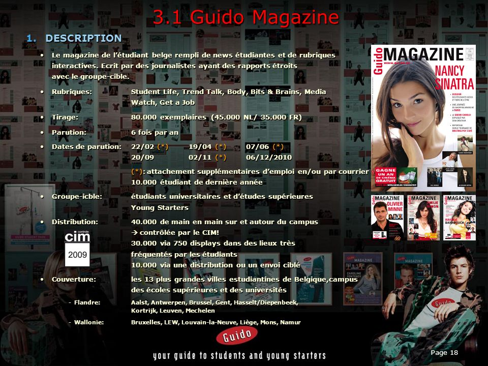 3.1 Guido Magazine DESCRIPTION