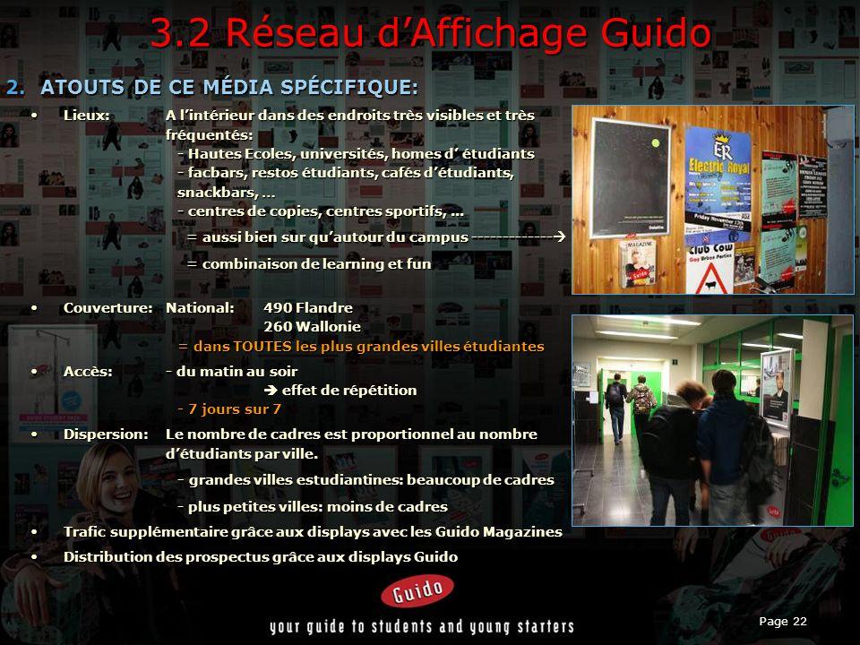 3.2 Réseau d'Affichage Guido