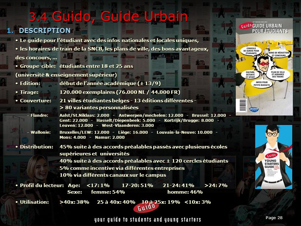 3.4 Guido, Guide Urbain DESCRIPTION