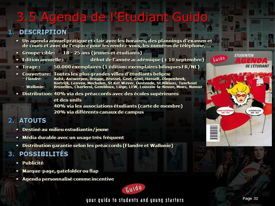 3.5 Agenda de l'Etudiant Guido