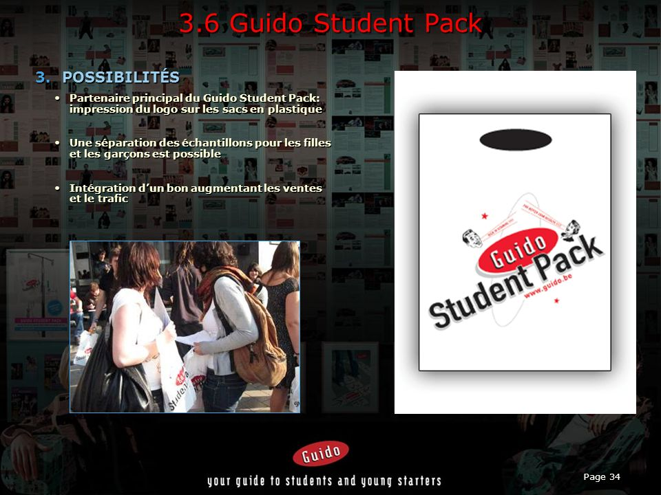 3.6 Guido Student Pack POSSIBILITÉS