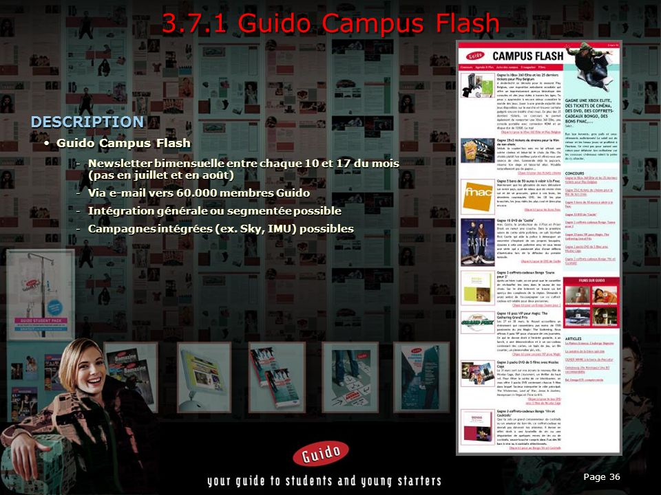 3.7.1 Guido Campus Flash DESCRIPTION Guido Campus Flash