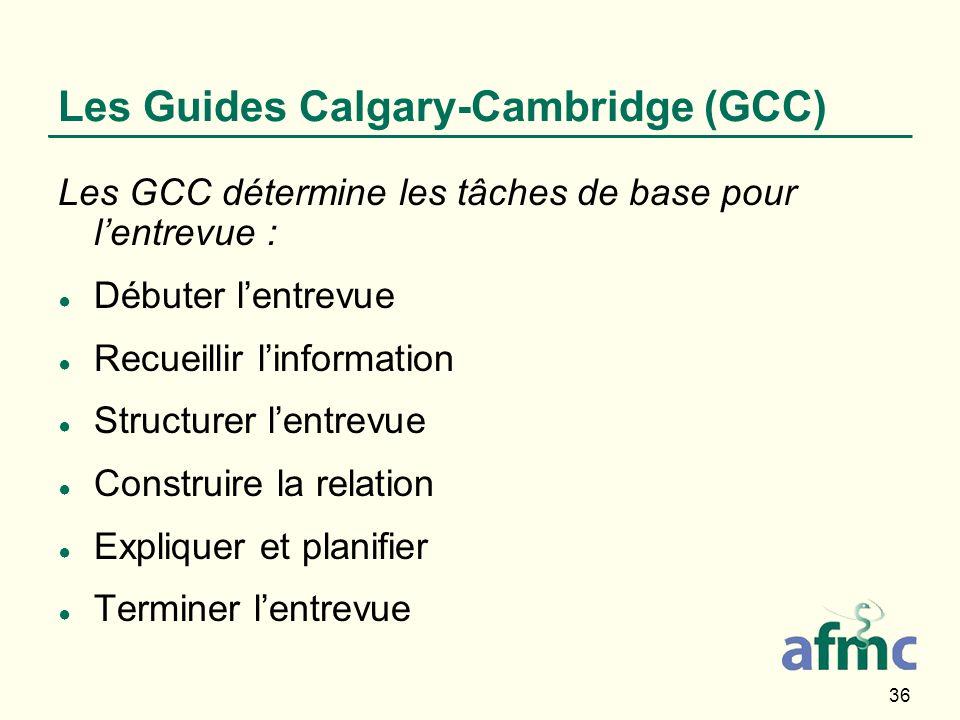 Les Guides Calgary-Cambridge (GCC)