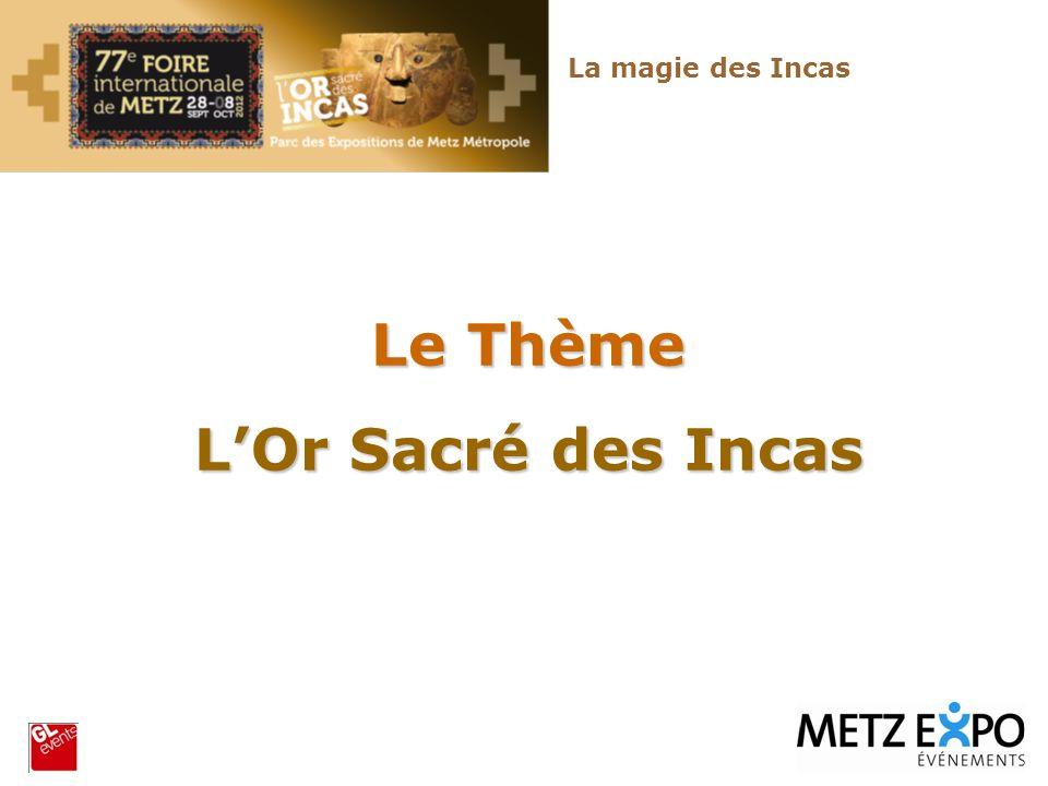 Le Thème L'Or Sacré des Incas