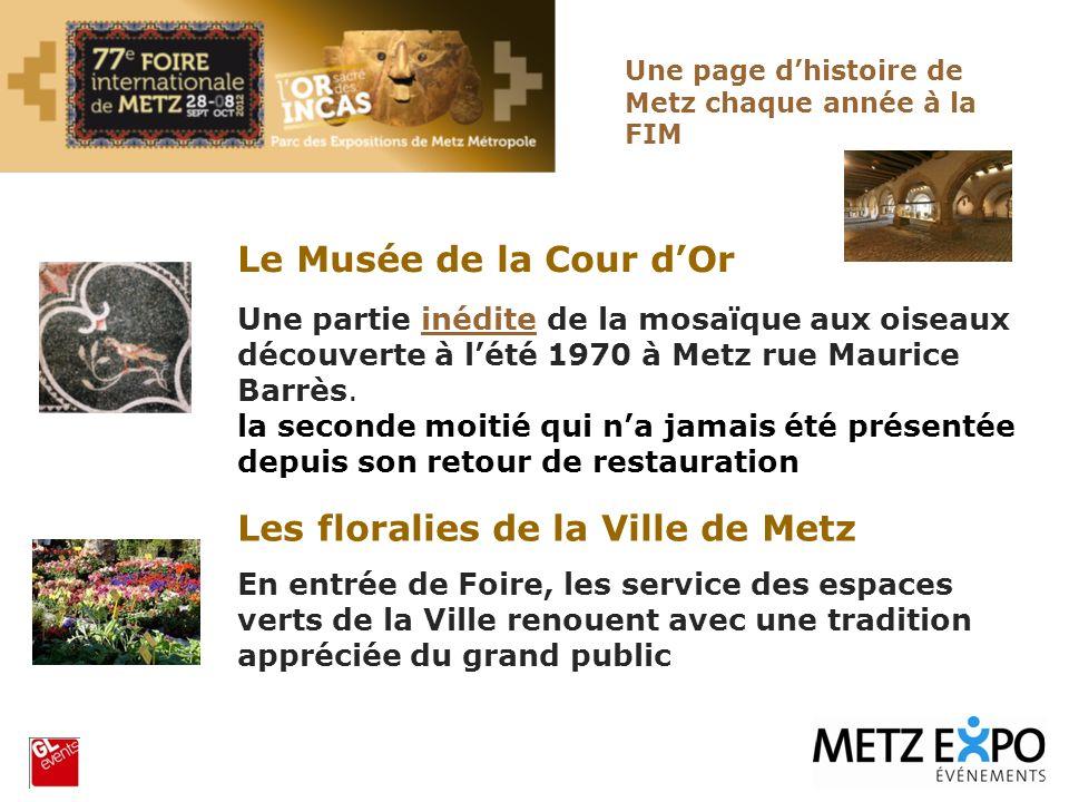 Les floralies de la Ville de Metz