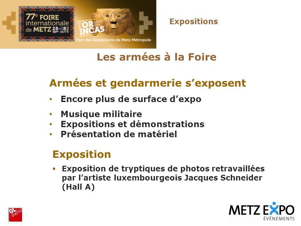 Armées et gendarmerie s'exposent