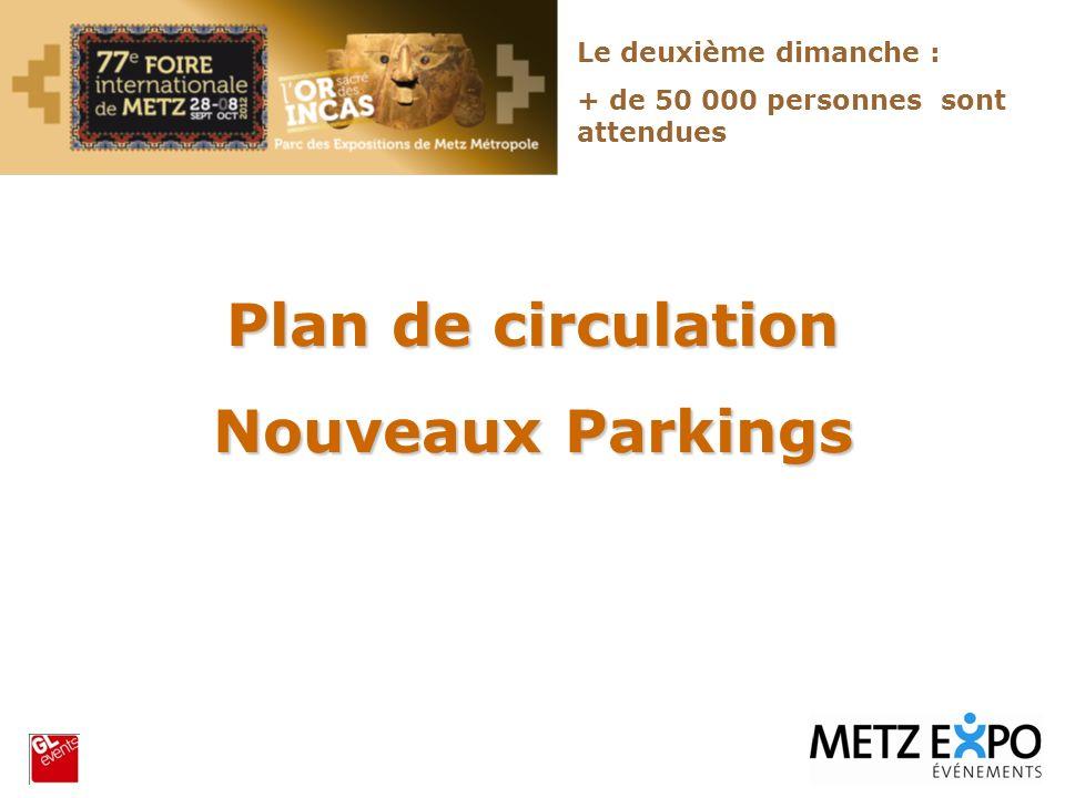 Plan de circulation Nouveaux Parkings