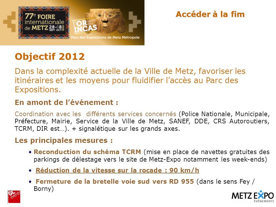 Objectif 2012 Accéder à la fim