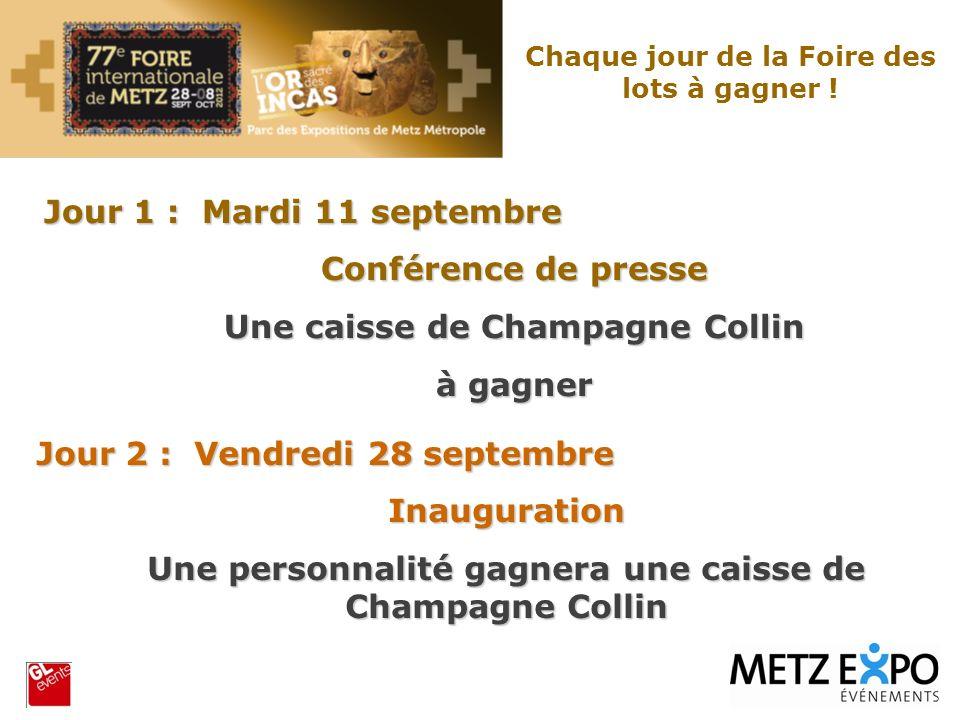 Une caisse de Champagne Collin à gagner