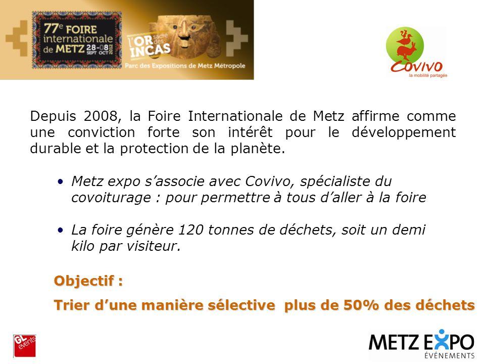 Depuis 2008, la Foire Internationale de Metz affirme comme une conviction forte son intérêt pour le développement durable et la protection de la planète.