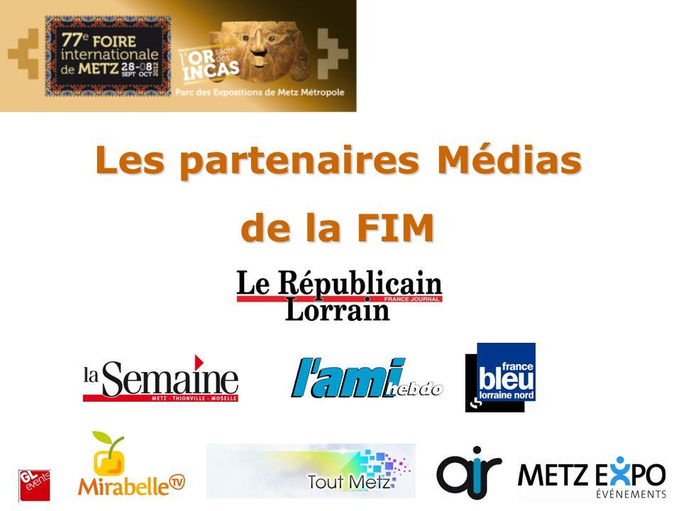 Les partenaires Médias