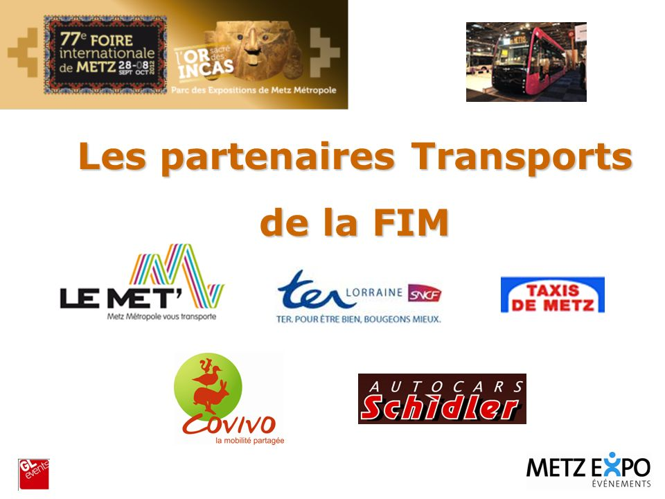Les partenaires Transports