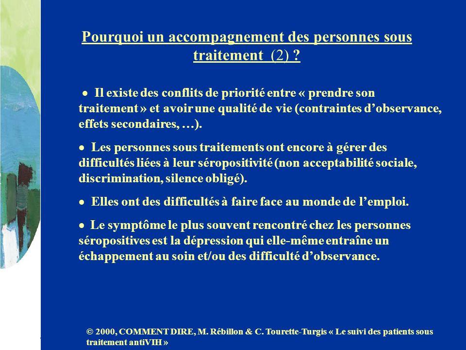 Pourquoi un accompagnement des personnes sous traitement (2)
