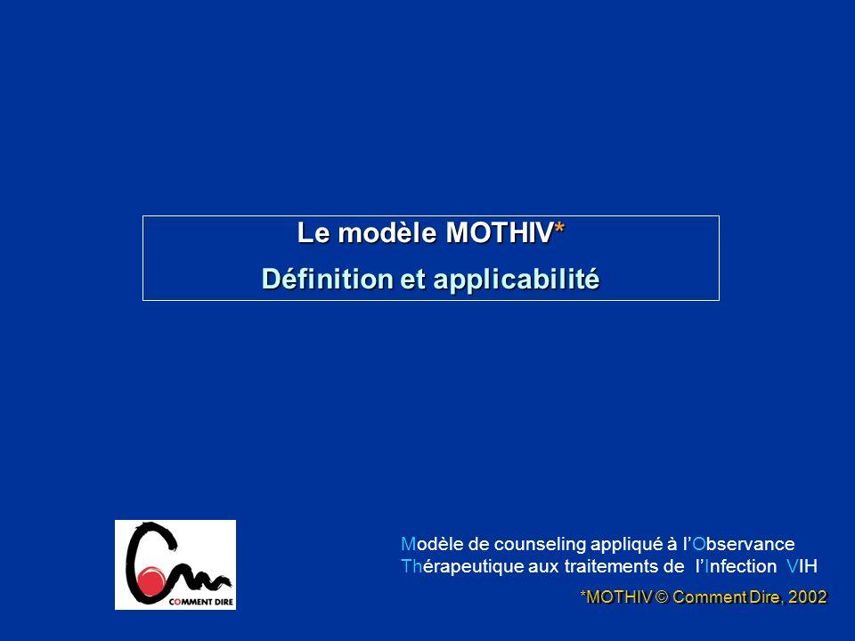Définition et applicabilité