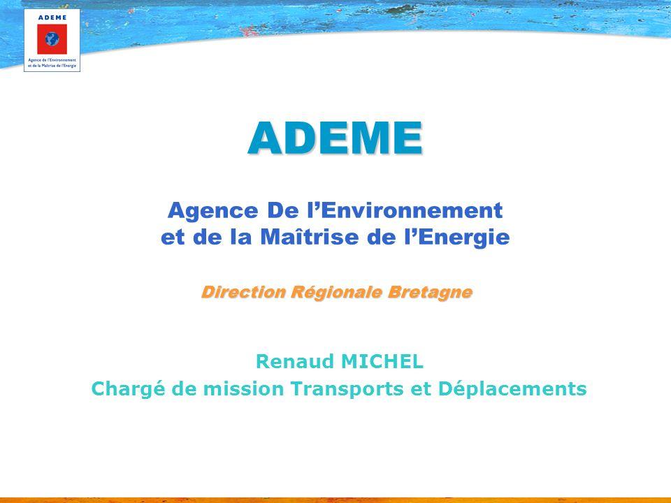 Renaud MICHEL Chargé de mission Transports et Déplacements