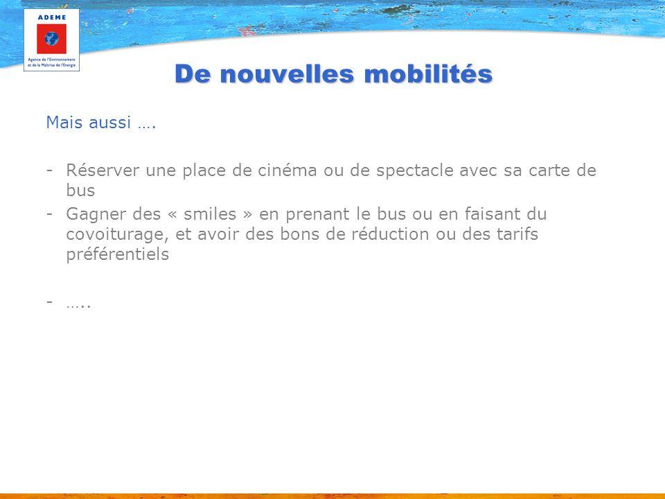 De nouvelles mobilités