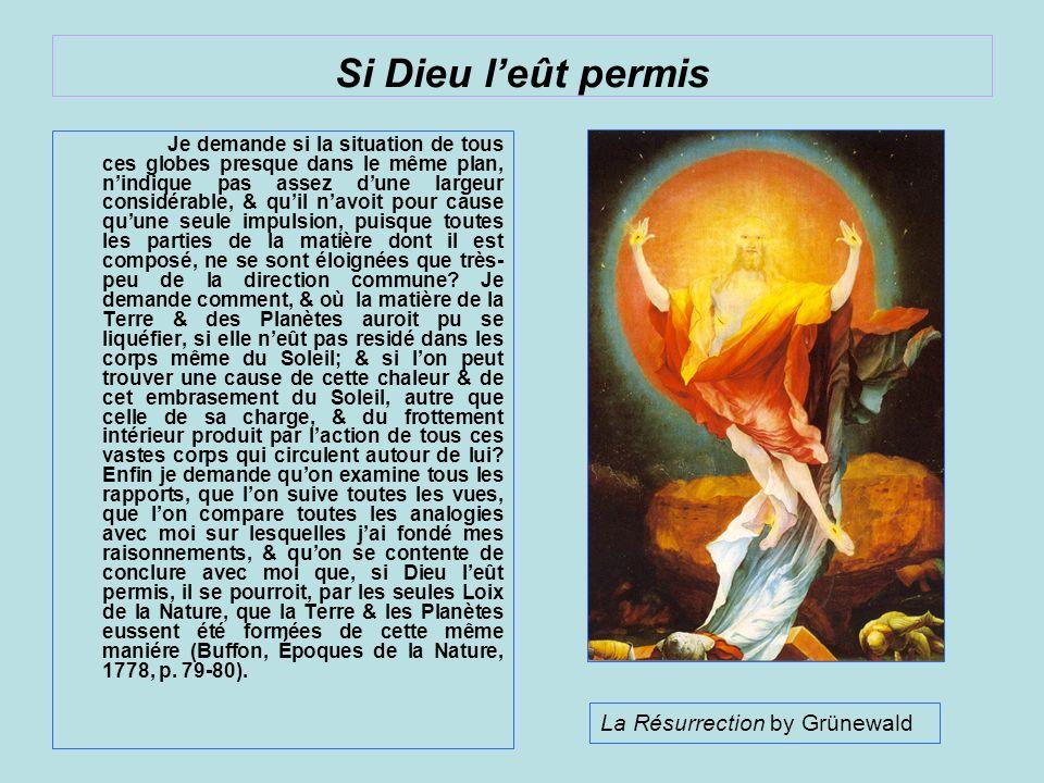 Si Dieu l'eût permis La Résurrection by Grünewald