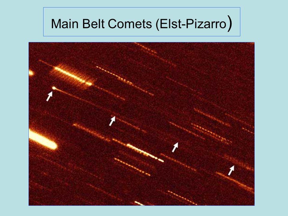 Main Belt Comets (Elst-Pizarro)