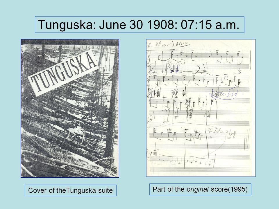 Tunguska: June 30 1908: 07:15 a.m. Part of the original score(1995)