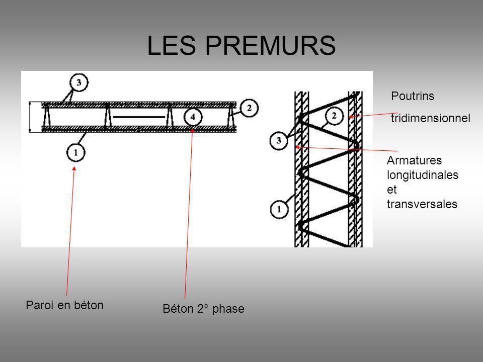 LES PREMURS Poutrins tridimensionnel