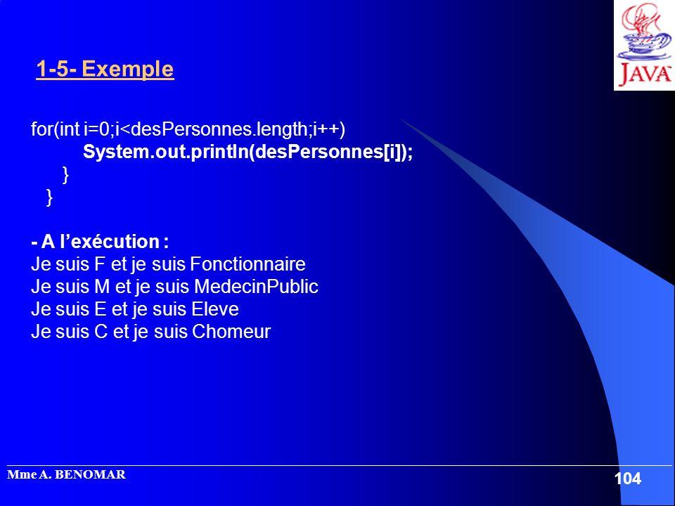 for(int i=0;i<desPersonnes.length;i++)