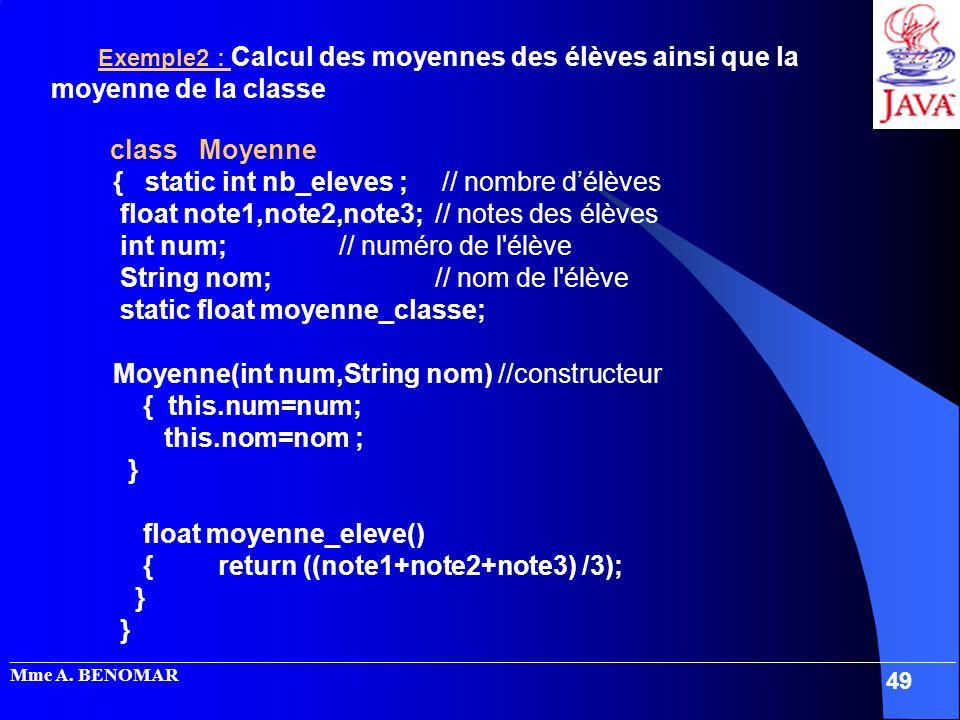 { static int nb_eleves ; // nombre d'élèves
