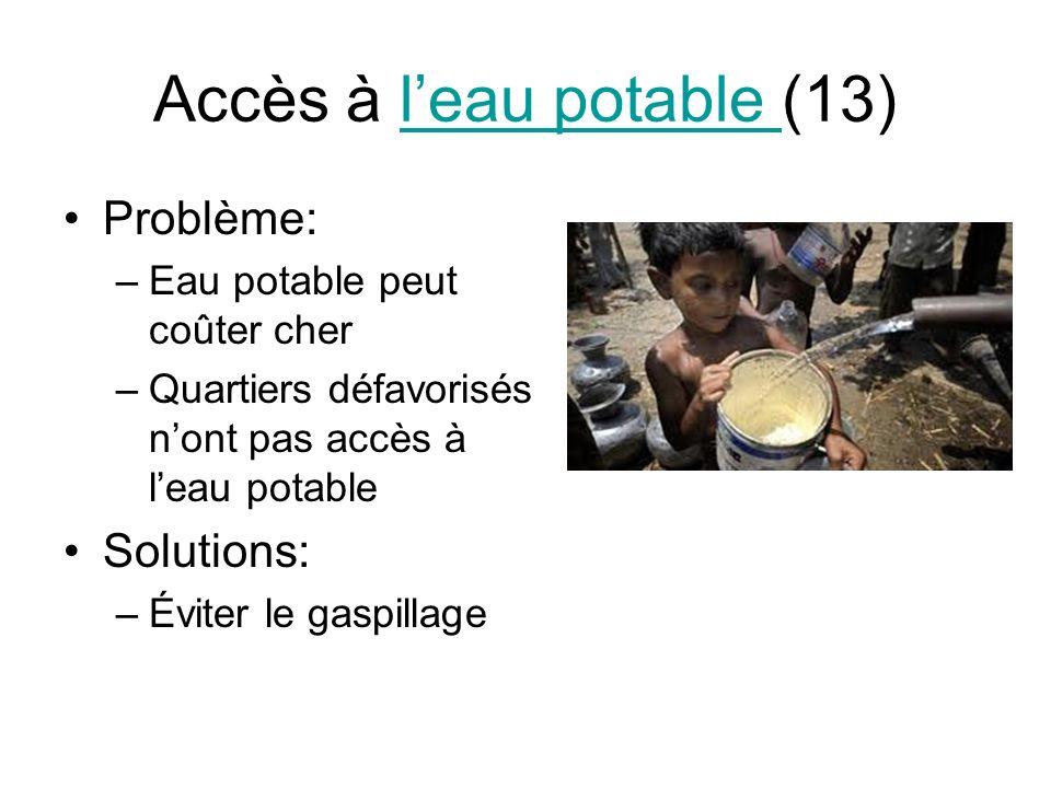Accès à l'eau potable (13)
