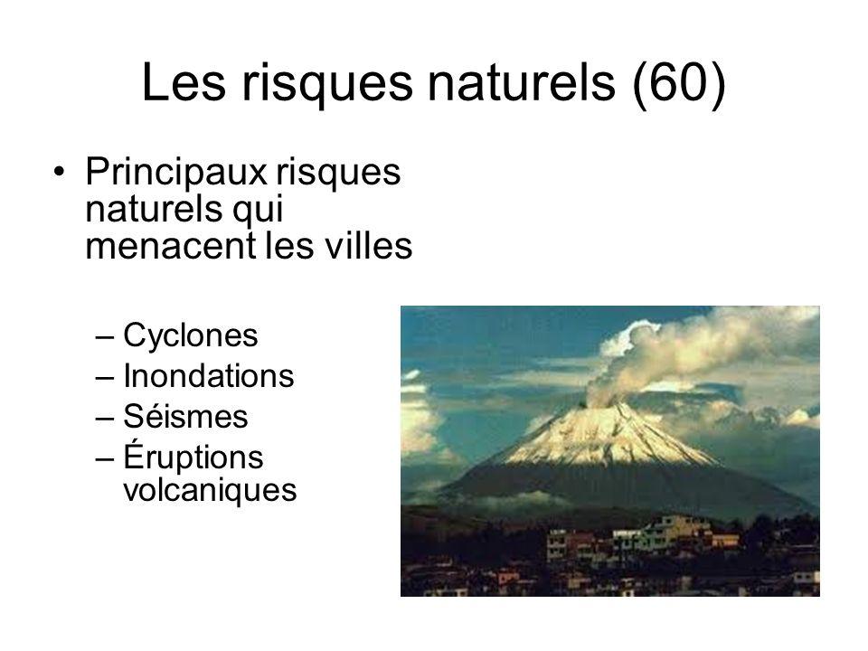 Les risques naturels (60)