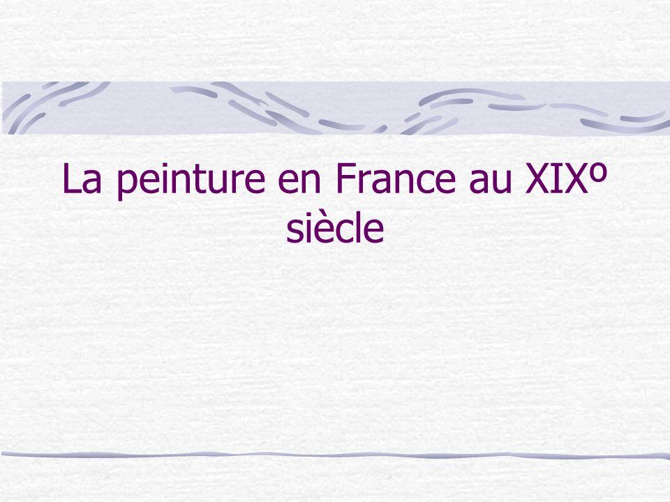 La peinture en France au XIXº siècle