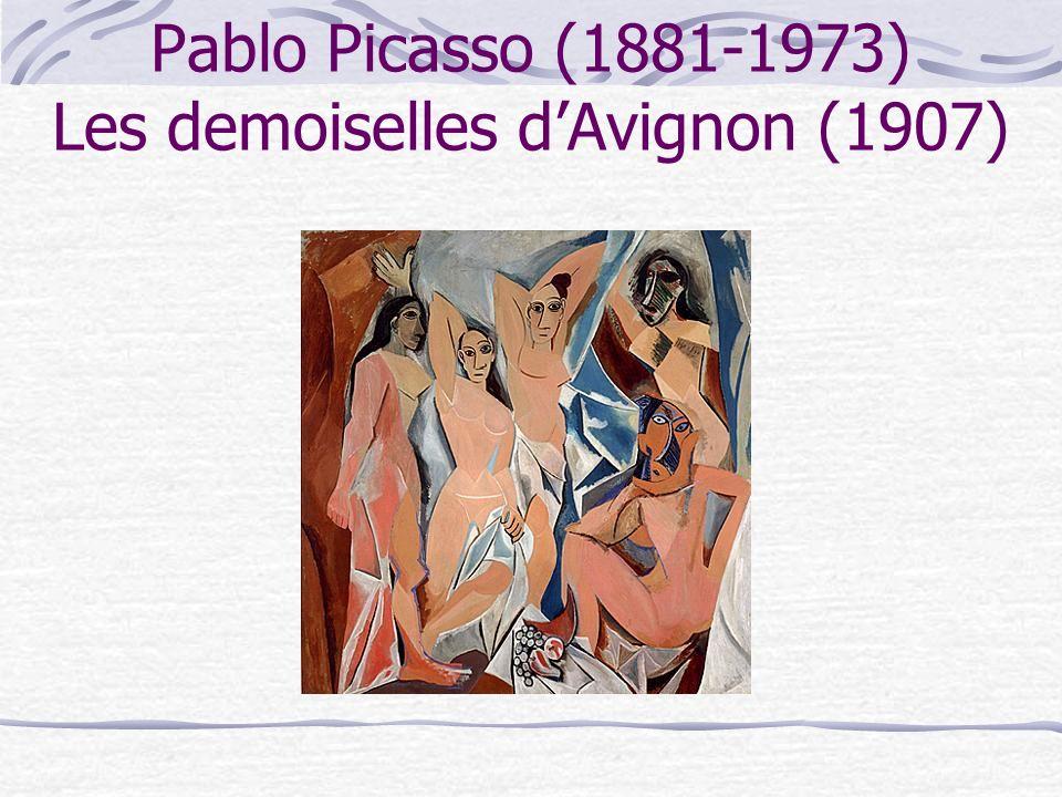 Pablo Picasso (1881-1973) Les demoiselles d'Avignon (1907)