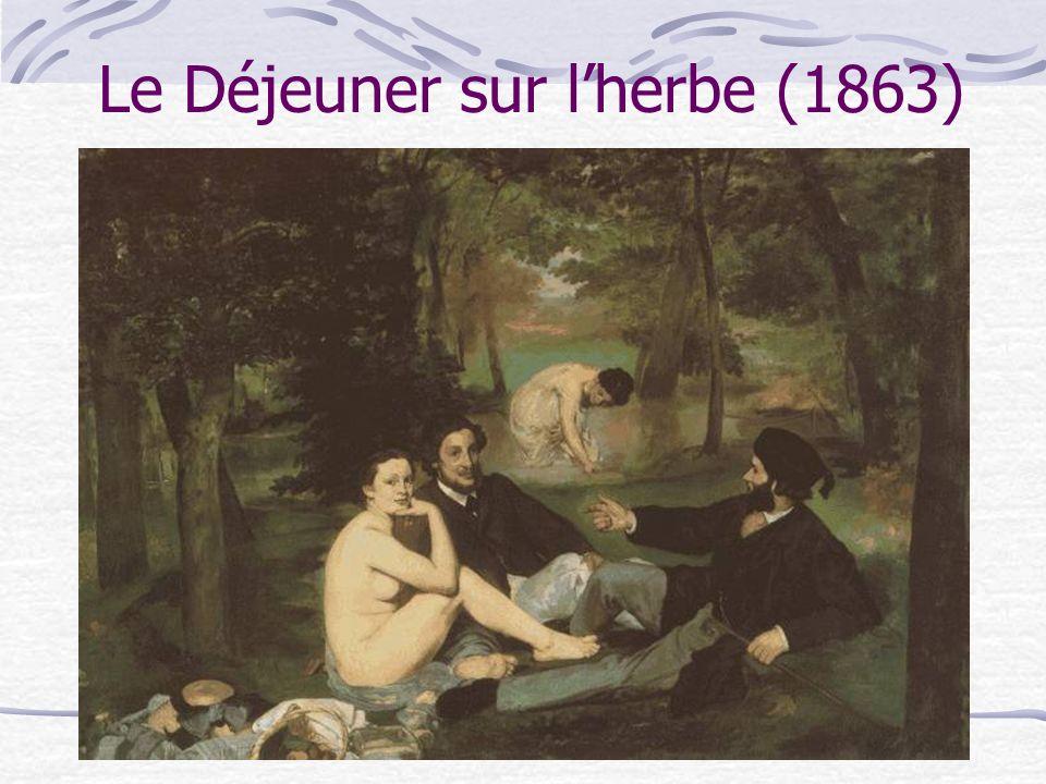 Le Déjeuner sur l'herbe (1863)