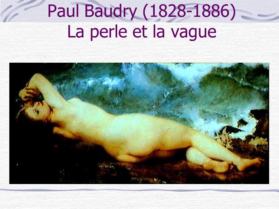 Paul Baudry (1828-1886) La perle et la vague