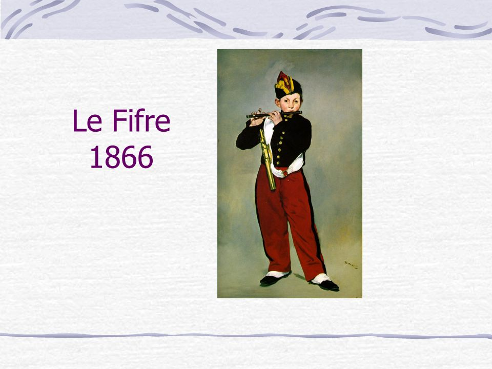 Le Fifre 1866