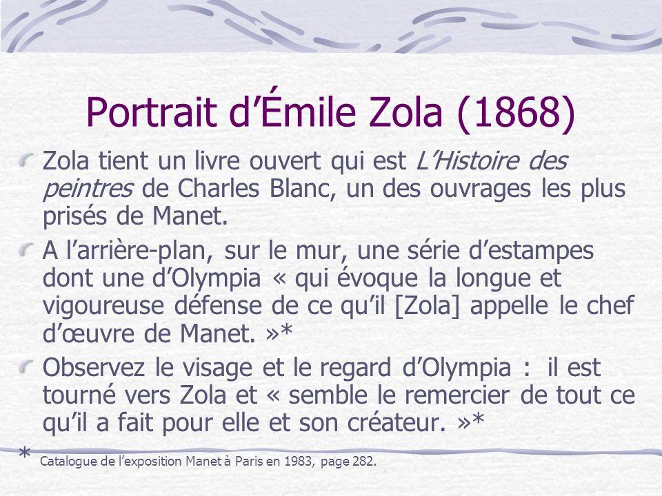 Portrait d'Émile Zola (1868)