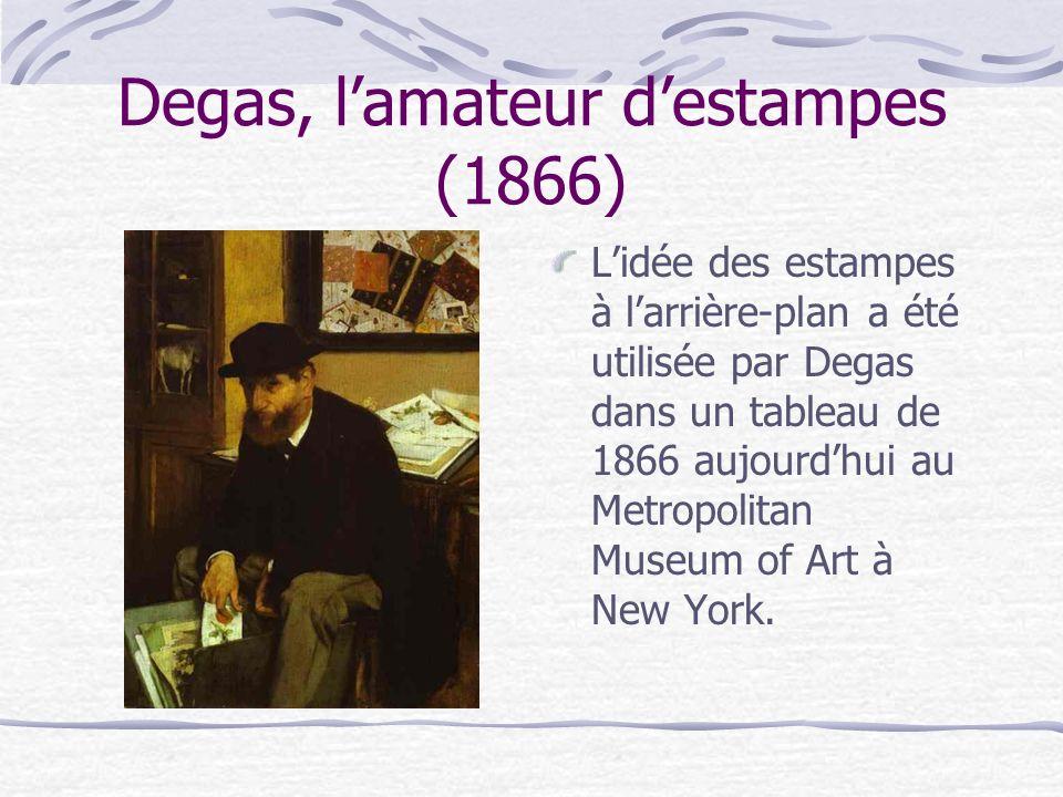 Degas, l'amateur d'estampes (1866)