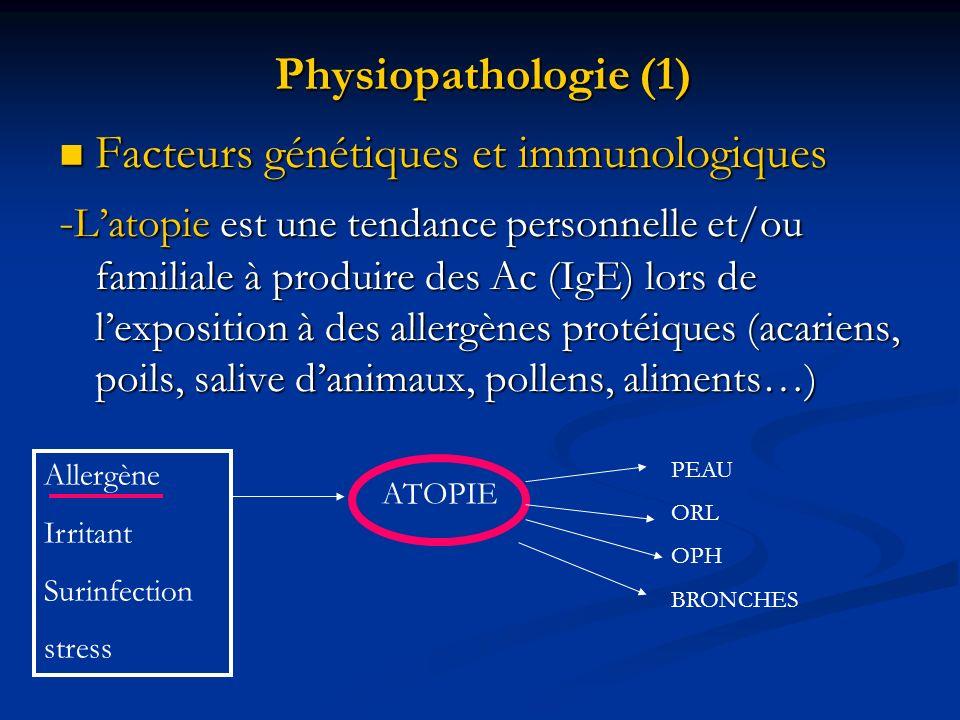 Facteurs génétiques et immunologiques
