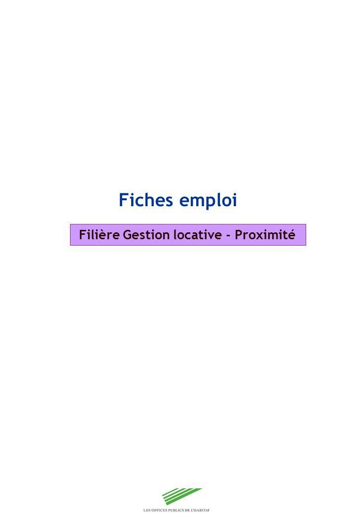Filière Gestion locative - Proximité