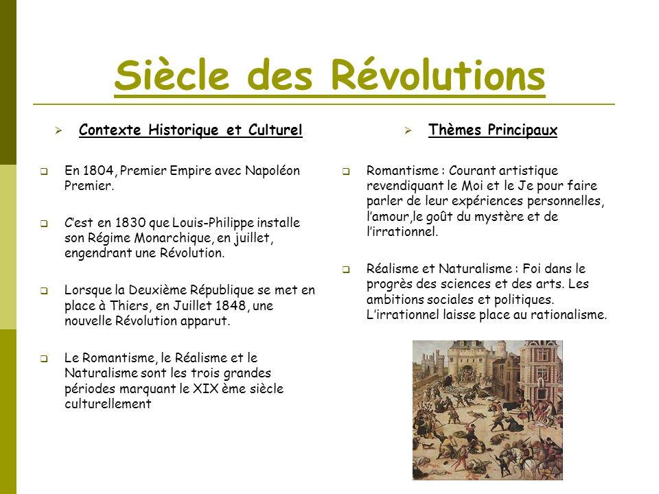 Siècle des Révolutions