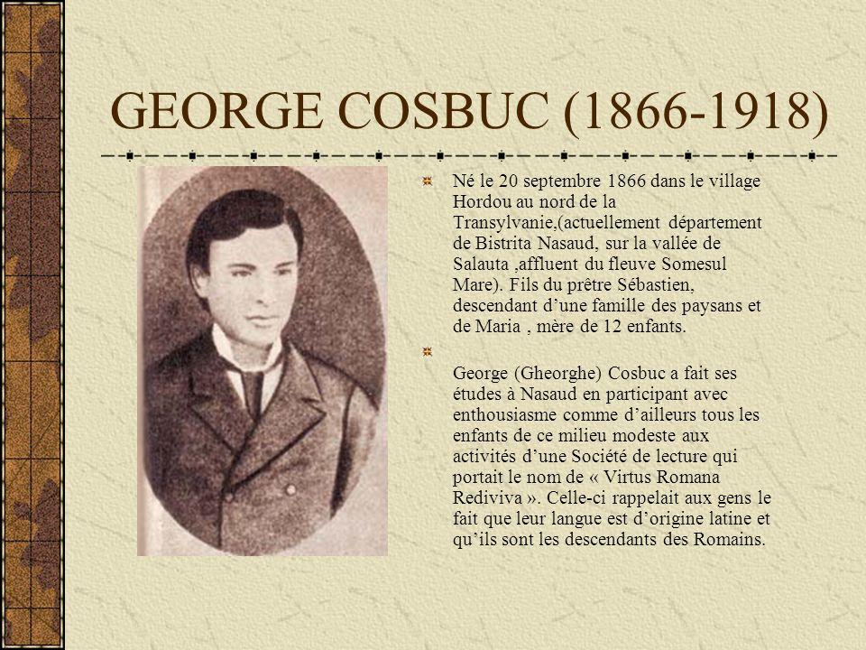 GEORGE COSBUC (1866-1918)