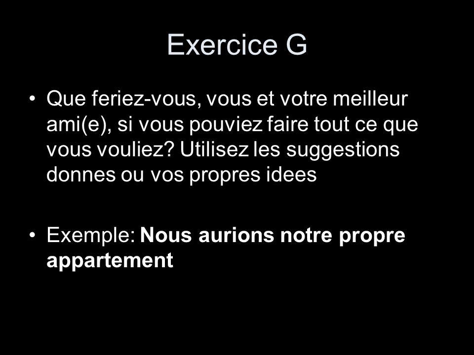 Exercice G