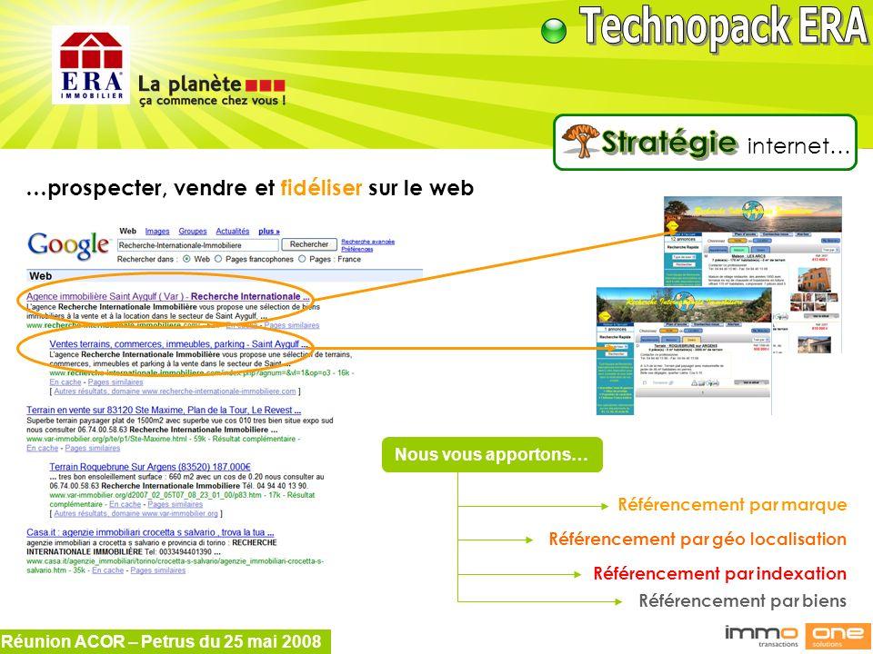 Stratégie internet… …prospecter, vendre et fidéliser sur le web