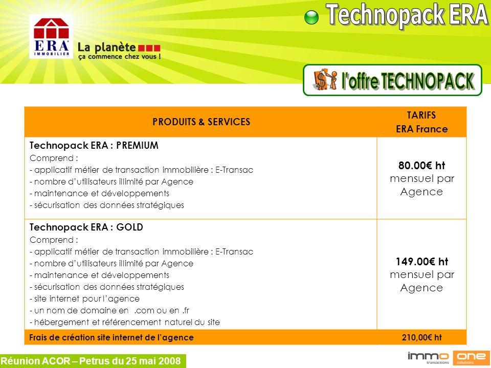 l offre TECHNOPACK 80.00€ ht mensuel par Agence