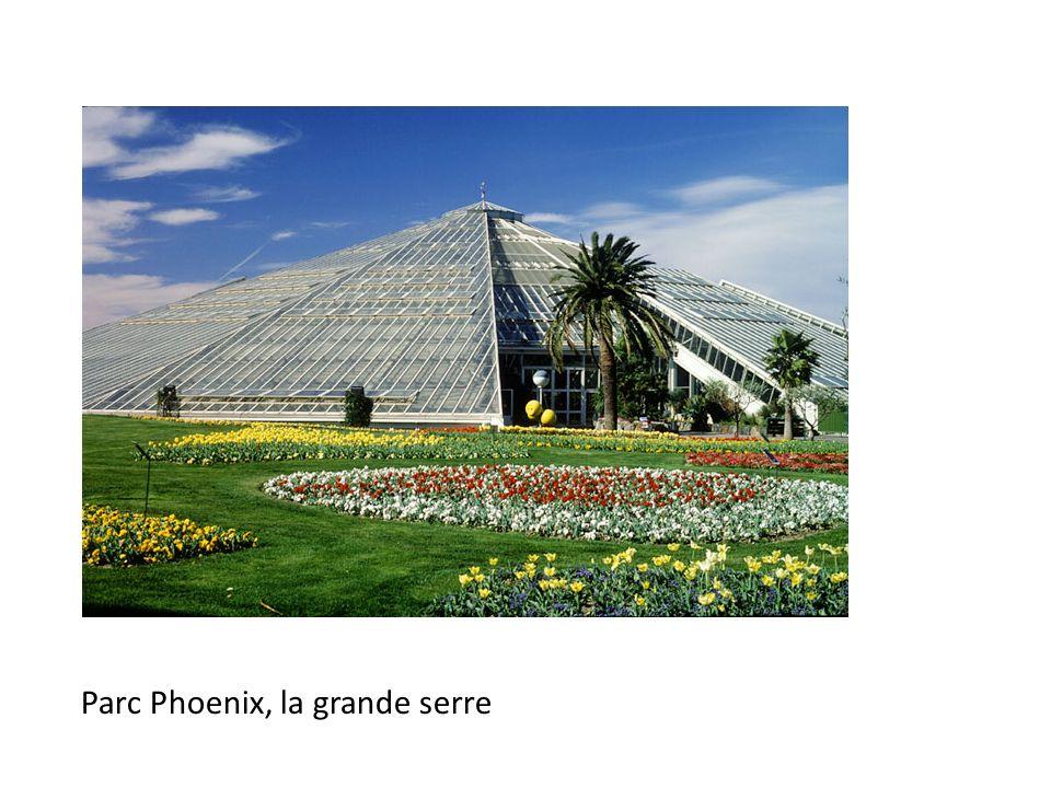 Parc Phoenix, la grande serre